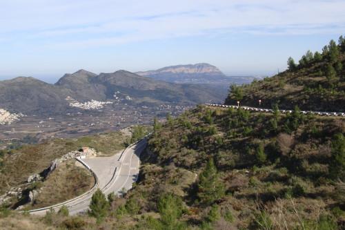 Calpe – kolarski raj